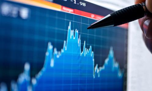 Volatile stock market