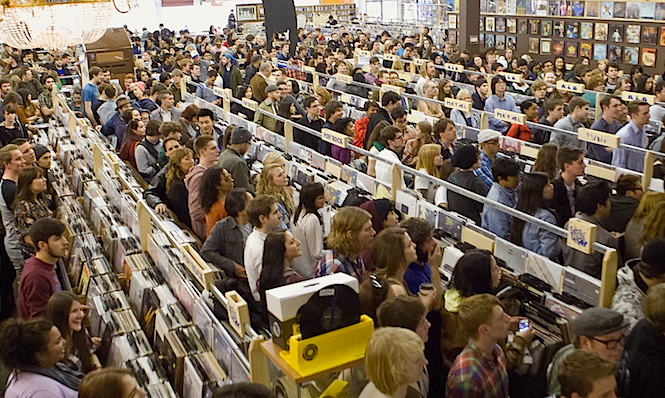 Record Stores are coming back into style!