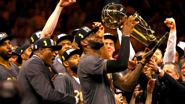 LeBron James and his Championship Win
